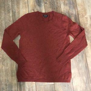J. Crew Everyday Cashmere Burgundy Sweater